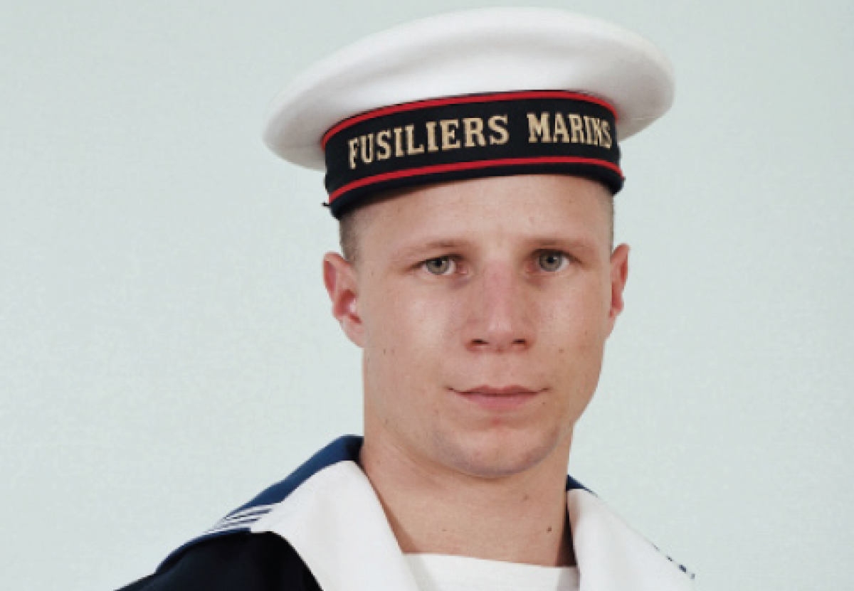 Charles Fréger, <em>Fusilliers marins</em>, 2002 (détail) / Collection Frac Normandie Caen © SAIF