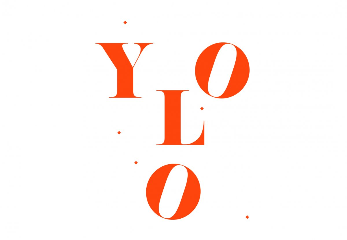Logo de YOLO - conception graphique : Jeanne Louise